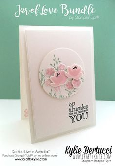 Stampin' Up! Australia: Kylie Bertucci Independent Demonstrator: Crazy Crafters Blog Hop with Special guest Tami White