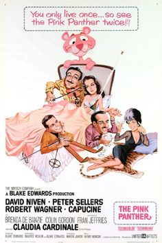 The Pink Panther is a 1963 American comedy film directed by Blake Edwards and co-written by Edwards and Maurice Richlin, starring David Niven, Peter Sellers, Robert Wagner, Capucine, and Claudia Cardinale. The film introduced the cartoon character of the same name, in an opening credits sequence animated by DePatie-Freleng Enterprises.