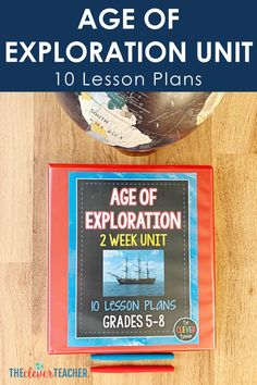 10 Interactive Age of Exploration Lesson Plans for Middle School - This 3 week Age of Exploration history unit is packed full of fun interactive lesson and activities - 7th Grade Social Studies, Social Studies Curriculum, Social Studies Resources, Teaching Social Studies, Teaching Us History, World History Lessons, American History Lessons, Teaching Tips, Middle School Us History