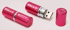 Lipstick flash drive