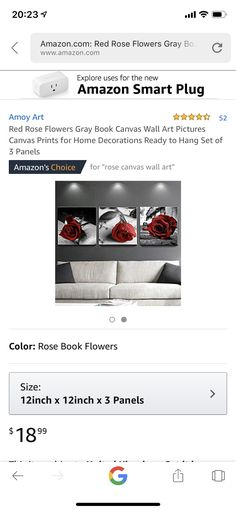 Wall Art Pictures, Canvas Pictures, Canvas Wall Art, Canvas Prints, Red Roses, Bar, Home Decor, Decoration Home, Photo Canvas Prints