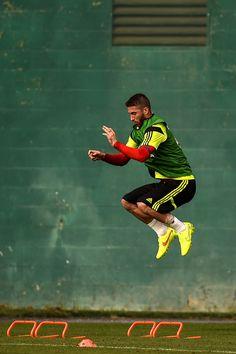 Sergio Ramos Photos: Spain Training Session