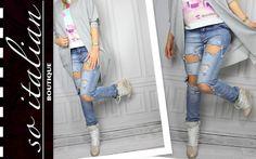 BOYFRIENDYYYY idealne !!!! http://allegro.pl/wloskie-boyfriend-jeans-dziury-ultra-sexy-siwiec-m-i5333813023.html