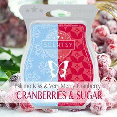 Scentsy Mixology Scentsy Eskimo Kiss Scentsy Very Merry Cranberry