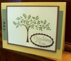 Thinking Of You by meluvstampin - Cards and Paper Crafts at Splitcoaststampers