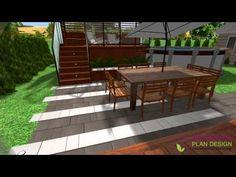 ▶ Expression Plan Design - Plan d'aménagement extérieur - YouTube #contemporain #plan #exterieur #design