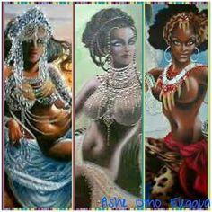 Yemaya, Oshun y Oya