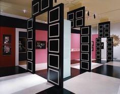 Dorothy Draper Black & White Panels