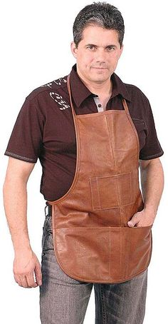 8 Pocket Cobbler And Blacksmith's Apron #apron #blacksmith #cobbler