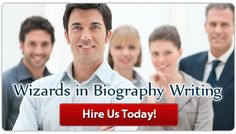 Hello guys, I found a impressive web site regarding life history Writing Services  They Offer Direct Contact with the author Free Callbacks from the Coach Biography supported Your Resume Writing while not Templates  Visit : http://www.dissertationeditinghelp.net