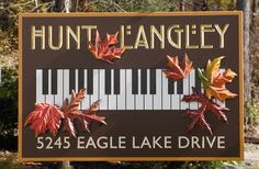 Hunt Langley Country Sign | Danthonia Designs
