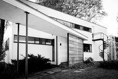 Bauhaus: Gropius House, Walter Gropius, Lincoln, Massachusetts ...
