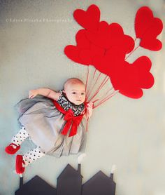 Newborn Valentine's Day photo session ideas I Edyta Pliszka Photography | Welcome to my blog! Thank you for stopping by. Hope you enjoy some of my photos.
