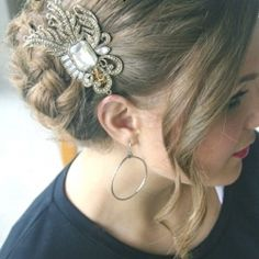 Three tutorials for vintage glam hair - inspired by Downton Abbey.  Perfect for bridesmaids!