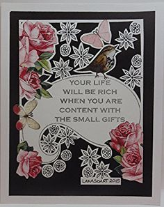 Small Gifts Drawing Papercut Collage