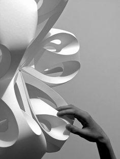 Formas en Papel   esculturas  diseño  arte