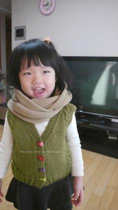 안녕하세요 니팅게일입니다 ^^* 손뜨개 유아옷 대바늘 조끼뜨기 !!! 조끼뜨는법에 대해서 살짝 포스팅해볼...