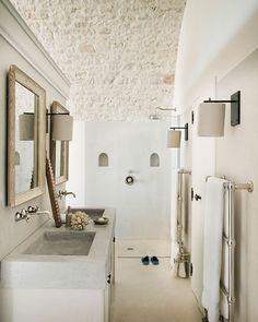 COCOON contemporary bathroom inspiration bycocoon.com | white | natural elements | bathroom design products for easy living | inox stainless steel bathroom taps | renovations | interior design | villa design | hotel design | Dutch Designer Brand COCOON | luxury villa in Puglia