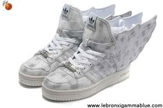 the best attitude df29b b251f Wholesale Discount Adidas X Jeremy Scott Wings 2.0 Shoes Grey For Sale Kobe  8 Shoes,