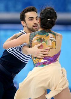 Sara Hurtado and Adria Diaz - Free Dance - Sochi 2014