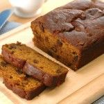 Pumpkin apple bread. I swapped the banana out for 1 cup pumpkin puree 2 cups apple pureed in my vitamix and i added lots of pumpkin pie spices