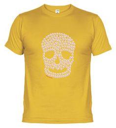 Camiseta Calavera - Rellena con el logo de SiNoLoEscribo: Revientín  http://www.latostadora.com/sinoloescribo/calavera/289740