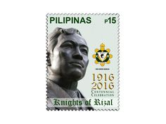 COLLECTORZPEDIA The Knights of Rizal Centennial Celebration Knights, Philippines, Celebration, Stamps, Movies, Movie Posters, Art, Seals, Art Background