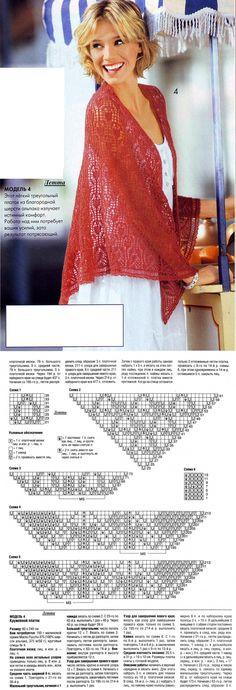 Lace handkerchief Light | шали палантины шарфы | Постила