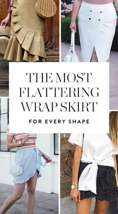 Here's how to avoid the dressing-room doldrums and pick out a wrap skirt that flatters your specific body type.