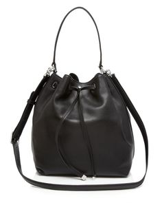 Tory Burch Shoulder Bag - Toggle Drawstring Bucket