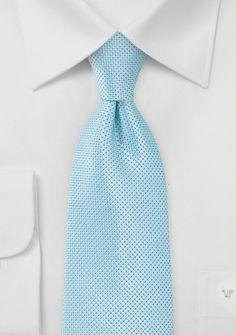 Elegant Solid Color Tie in Spearmint