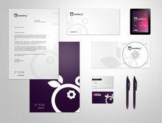 Moonberry by Adam Zielonko - #VisualIdentity #VI