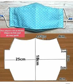 Cute Sewing Projects, Sewing Hacks, Sewing Tutorials, Easy Face Masks, Diy Face Mask, Sewing Art, Sewing Crafts, Old Bras, Diy Mask