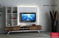 Hayal Tv Ünitesi 12655 Duvar Üniteleri Mobilya İnegöl Mobilya