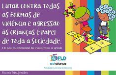 post 4 de julho: dia internacional das crianças vítimas de agressão