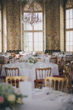 Austrian Wedding at Castle Niederweiden Wedding Images, Castle, Wedding Inspiration, Table Decorations, Pictures, Home Decor, Getting Married, Photos, Decoration Home
