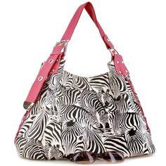 http://www.handbagsblingmore.com/Pink-Zebra-Print-Contemporary-Style/dp/B00UNPV5LA?field_availability=-2
