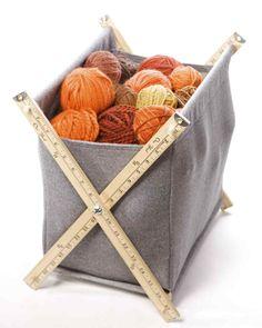 DIY Yarn Basket | Martha Stewart
