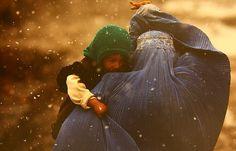 Snowing in Afghanistan