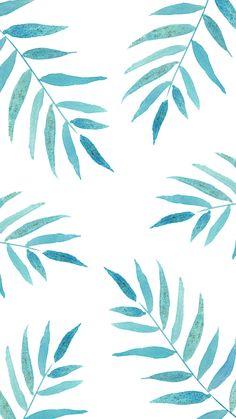 """Freebie - Wallpaper """"Palmenblätter"""" für dein Smartphone"""