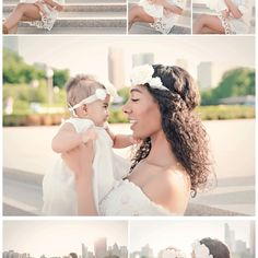Chicago Mommy and Me Photography session, Chicago Baby Photography, blooms, Chicago Buckingham Fountain photos,