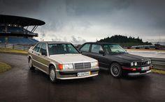 Mercedes-Benz 190E 2.3-16 vs. BMW M3 Photo Gallery