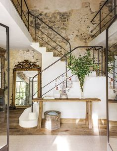 Exterior Design, Interior And Exterior, Rural House, Design Case, Rustic Interiors, Home Fashion, My Dream Home, New Homes, Stairs