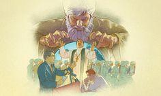 Satanás controlando governos, exércitos, religiões e pessoas no mundo