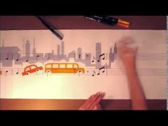 Architecture with music