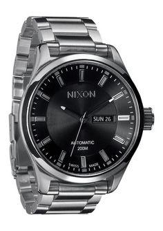 Nixon - The Automatic II in Black $1200.00