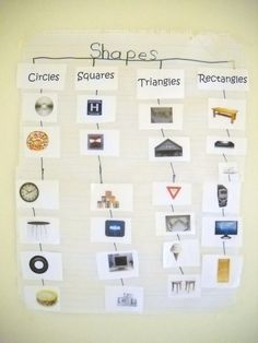 Mrs. Wood's Kindergarten Class: Shapes