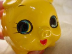 Vintage Yellow Piggy Pig Bank made in Japan Retro Kitschy Pig Bank, Money Box, Vintage Yellow, Rubber Duck, Digital Camera, Baby Items, Coupons, Pikachu, Japan
