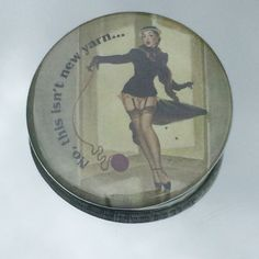 """1.50"""" Pinback button """"No, this isn't new yarn"""" - pinned by pin4etsy.com"""