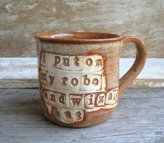 interesting way to add to a mug... look into it...